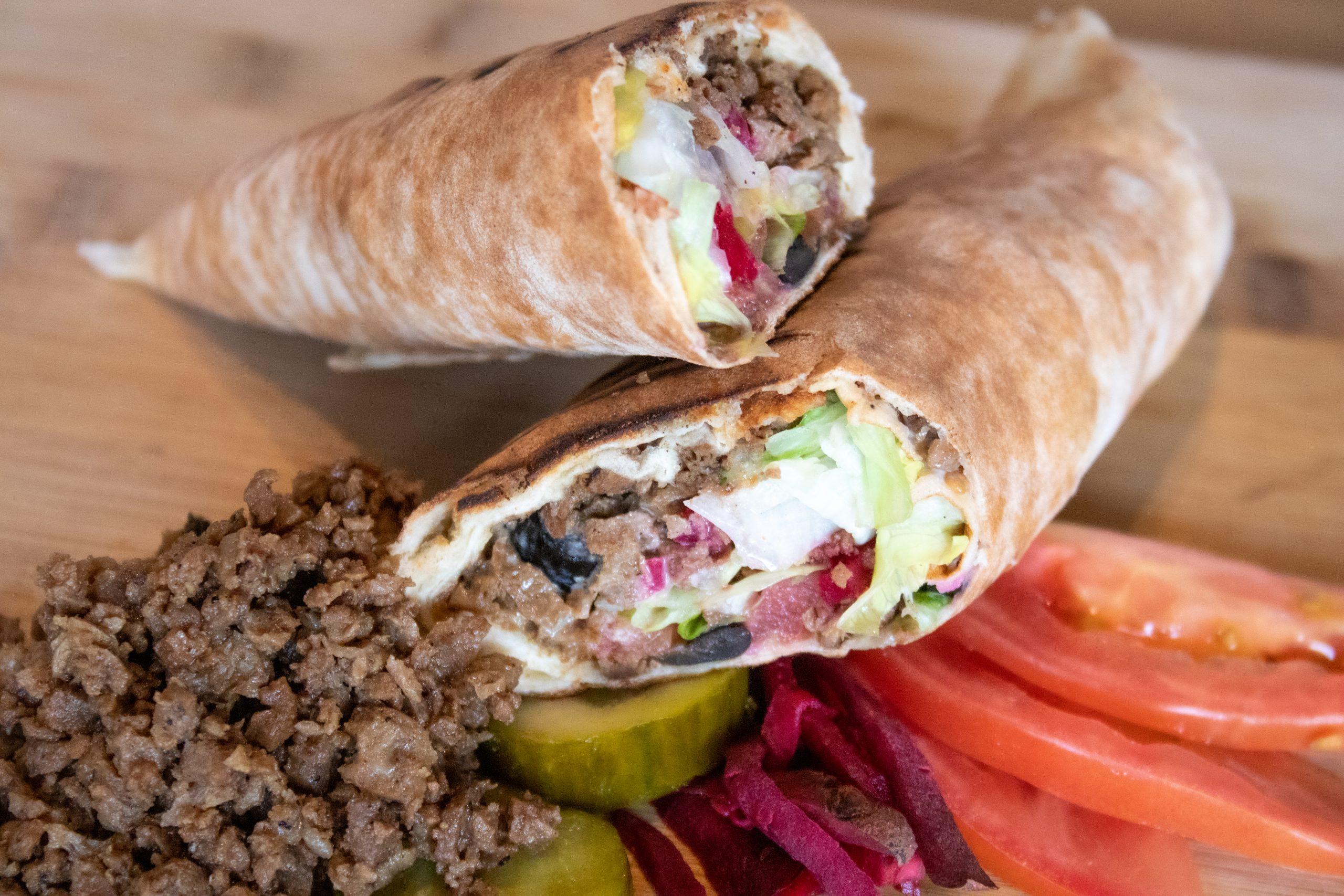 shawarma-veggie-wrap